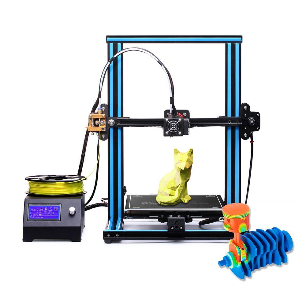 RAISCUBE R10 Instalación rápida DIY Soporte de impresora 3D Reanudar ...