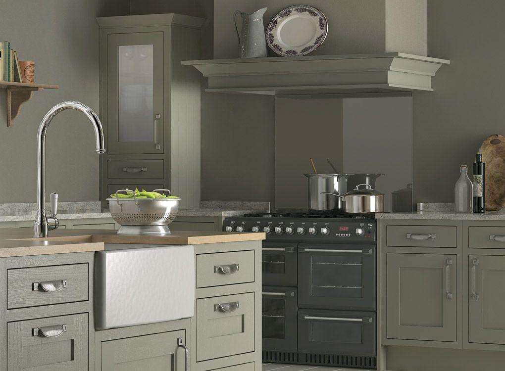 Cabinets, And These Handles. White. Heritage Kitchens
