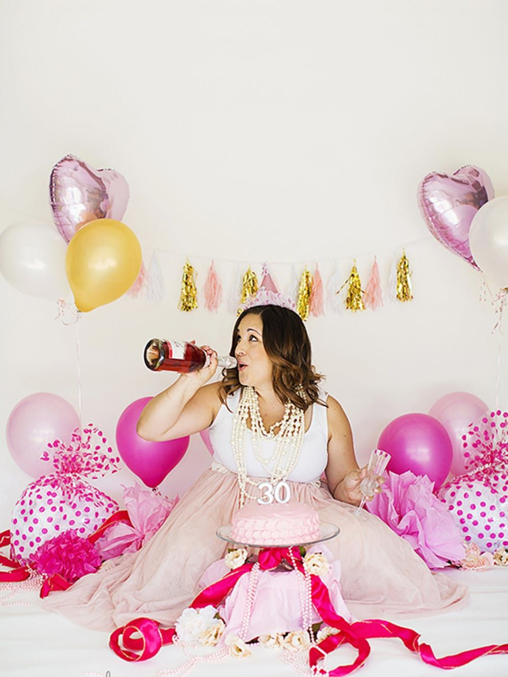 Everything You Need for a 30th Birthday Princess Party
