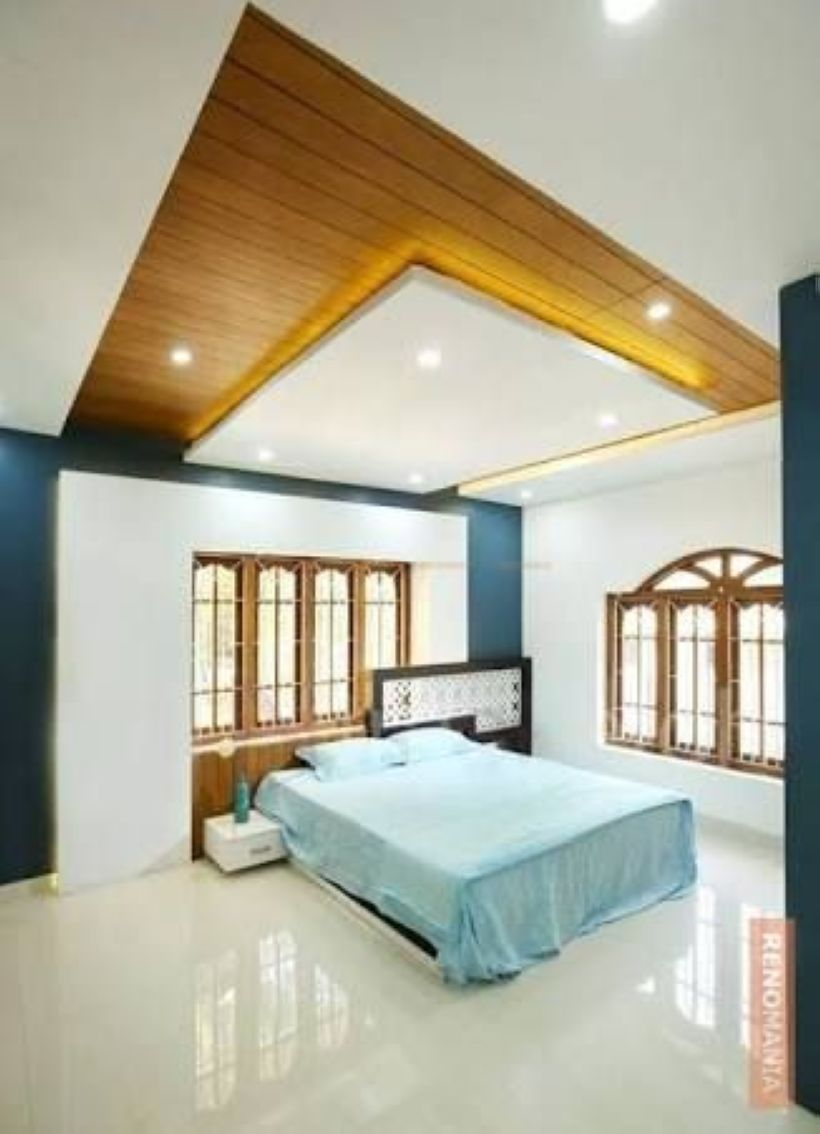 False ceiling modern decorating ideas bedroom bedsrcular interior design living room   also beds rh pinterest
