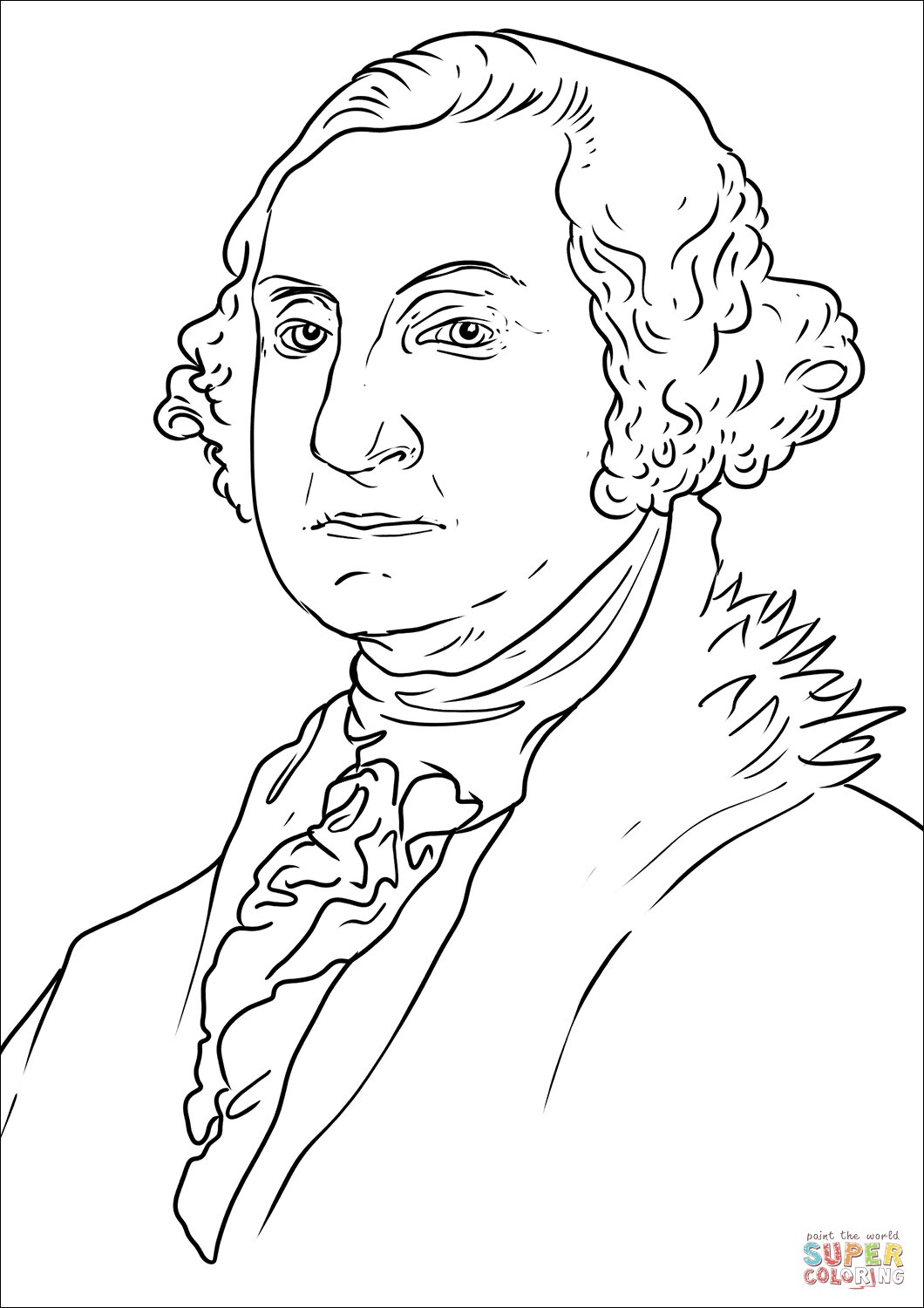 10 Best George Washington Coloring Page In 2021 George Washington Printable George Washington Craft Coloring Pages