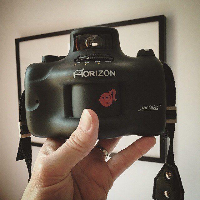 Lomo Horizon Perfekt 35mm Panoramic Camera #Camera, #Photography, #Plastic