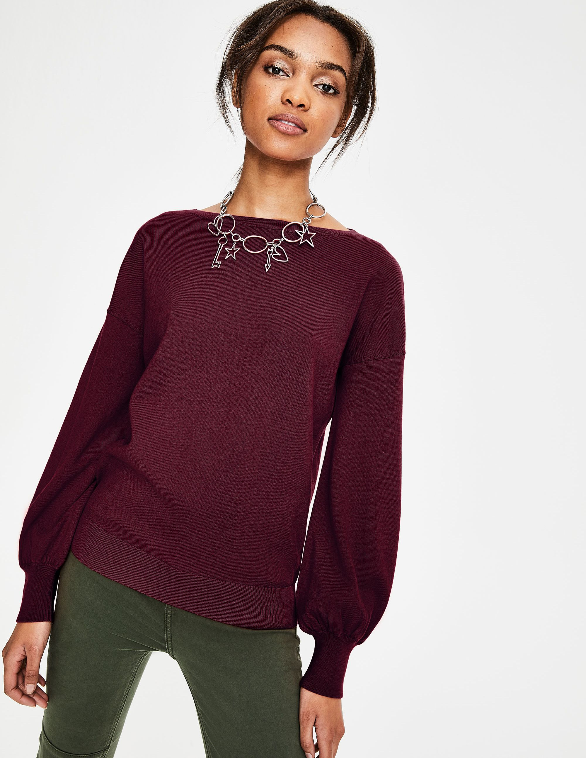 Muriel Pullover K0107 Pullover bei Boden | Costume jewelery