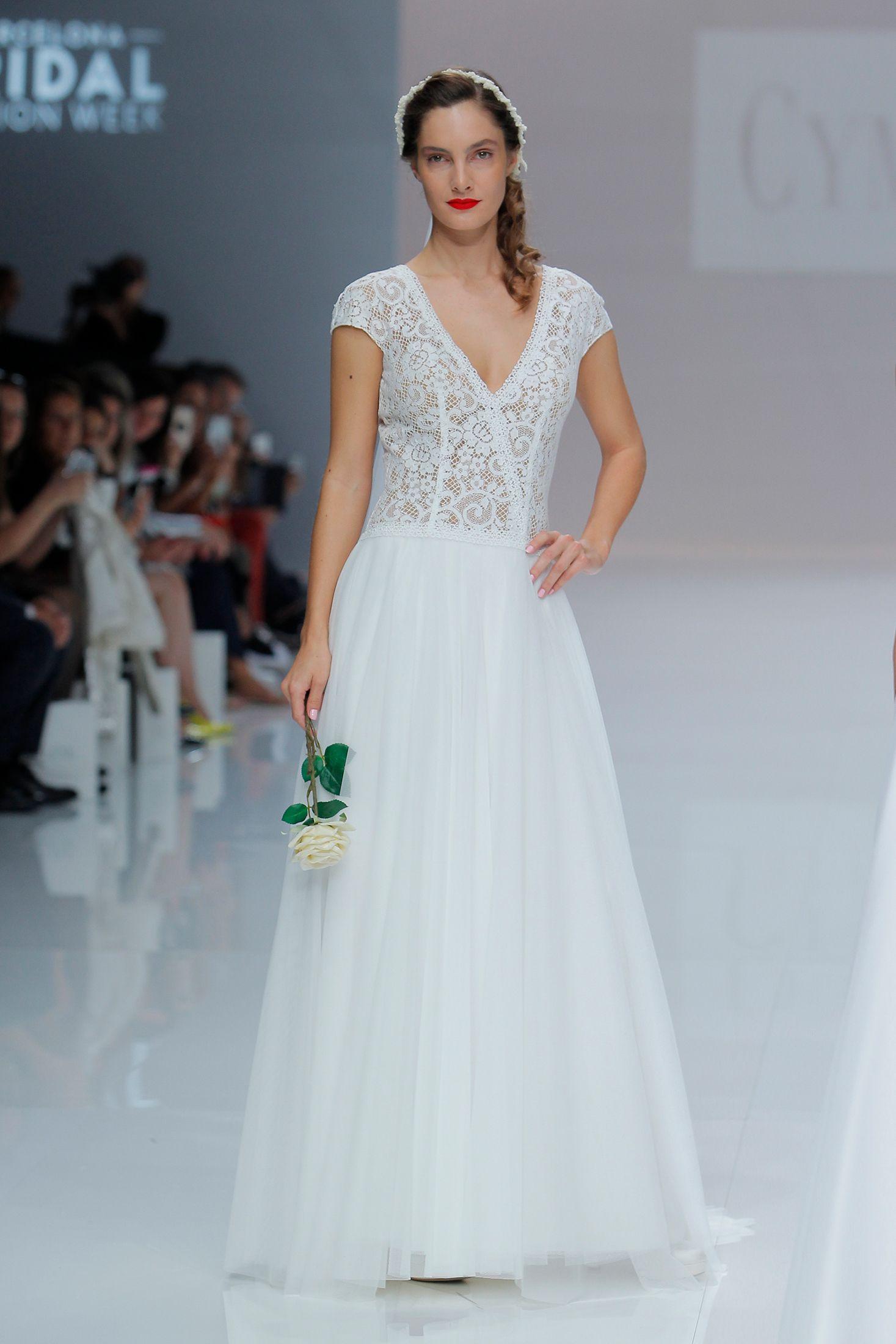 Vestido de Novia de Cymbeline - CY 019 #wedding #bodas #boda ...
