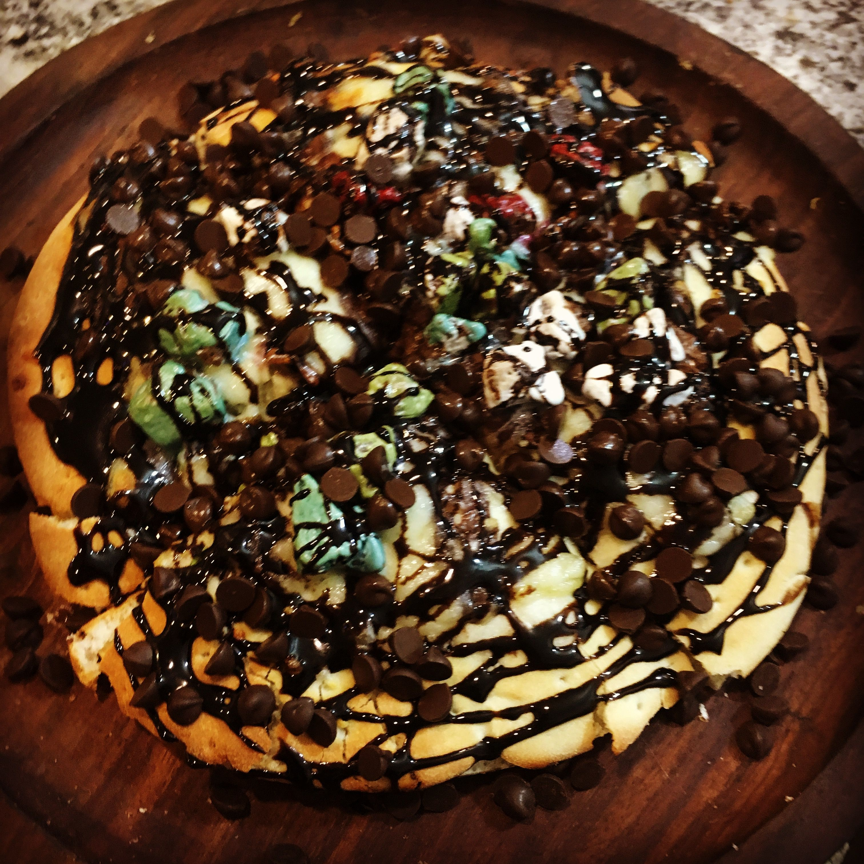 Chocolate #Pizza available at #Olive & #Honey #Fast #Food & #Dine ...