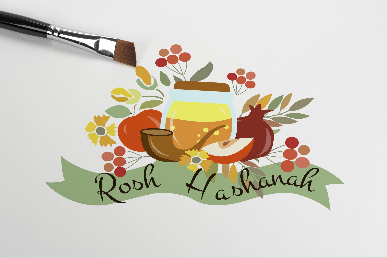 Rosh Hashanah Card Set by Svetlana Kurako on