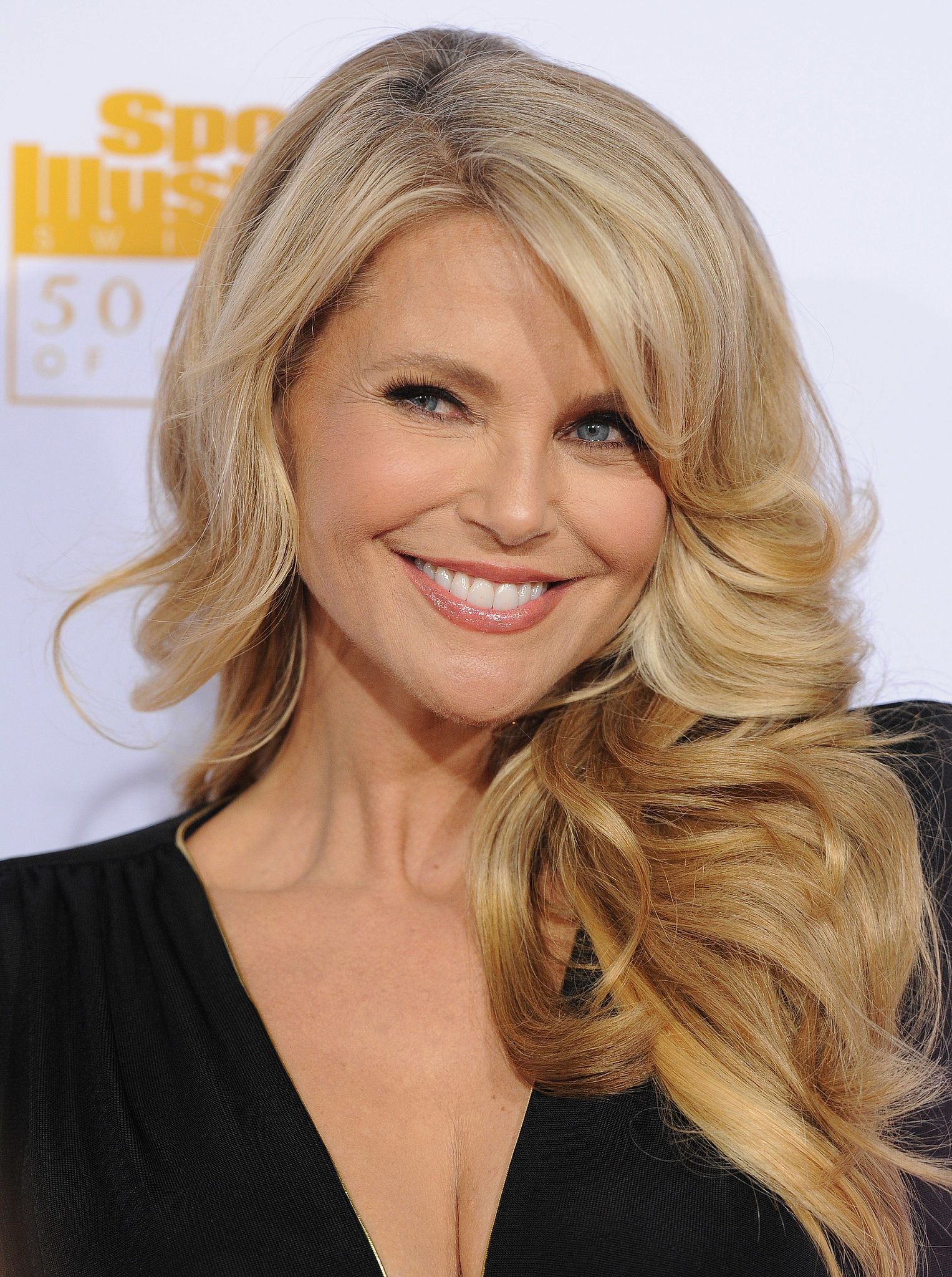 a guide to glowing like christie brinkley at 60 | hair