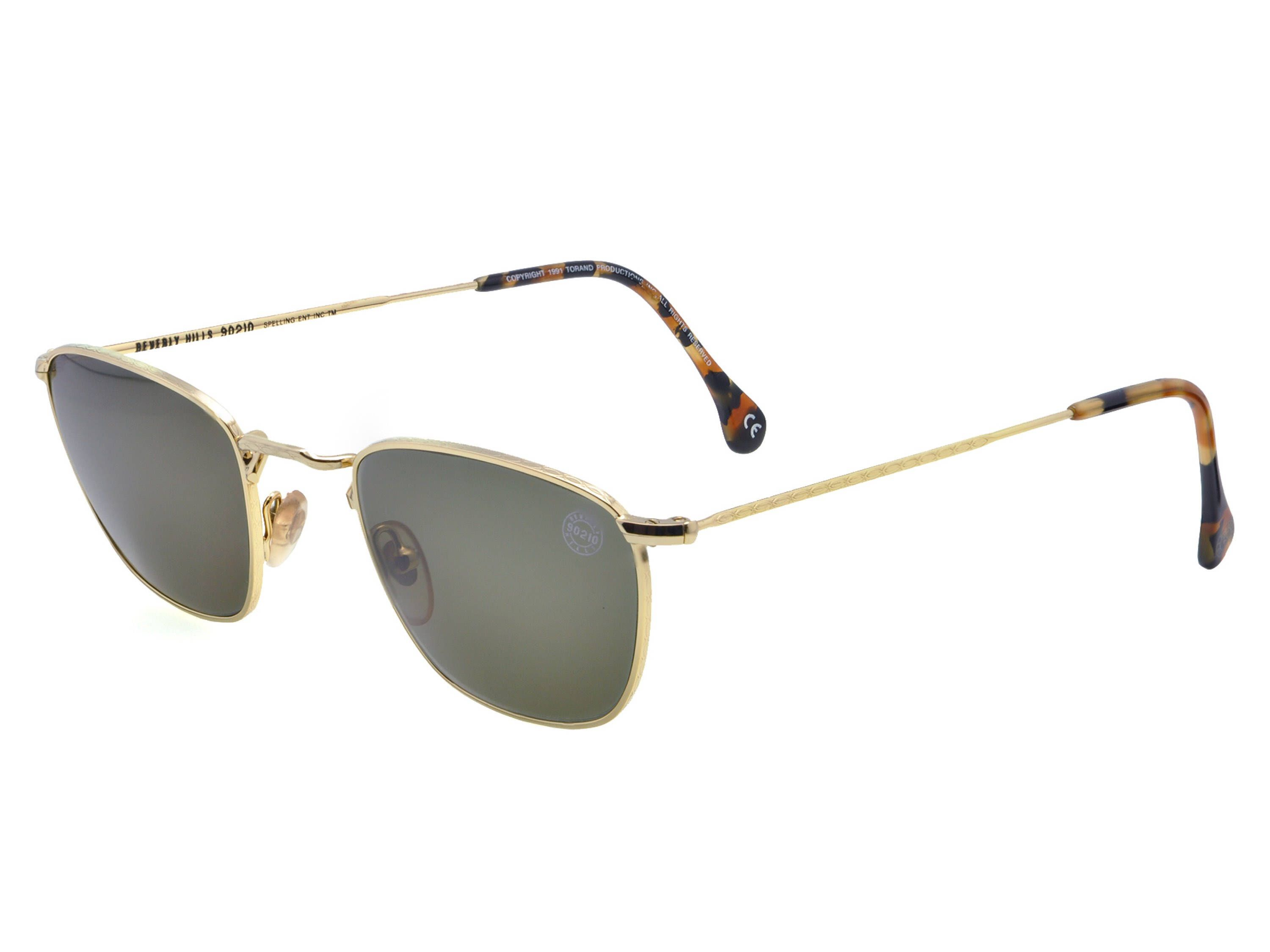 493179a36 90210 Steve Vintage Sunglasses 90s, made in USA. Gold vintage ...