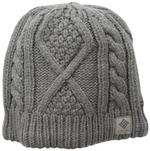 1dc028c11e063 Amazon.com  Columbia Women s Cabled Cutie Beanie