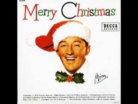 Bing Crosby - I\u0027ll Be Home For Christmas ♫♫♫ favorite Christmas