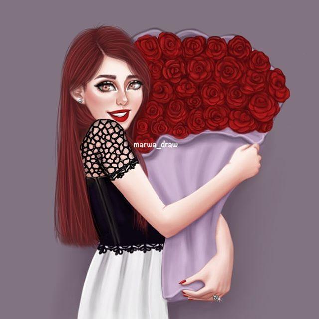 Thanks 140k Marwa Draw Sketchbookpro Mydrawing Drawing Style Draw Artist Sketchbook Sketch Myfollow Girly M Girly Art Cute Girl Drawing