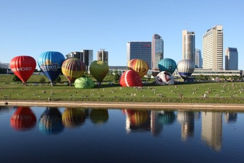 4e137ae5236 Βίλνιους, η πρωτεύουσα της Λιθουανίας. | Earth:Cities | Balloon ...