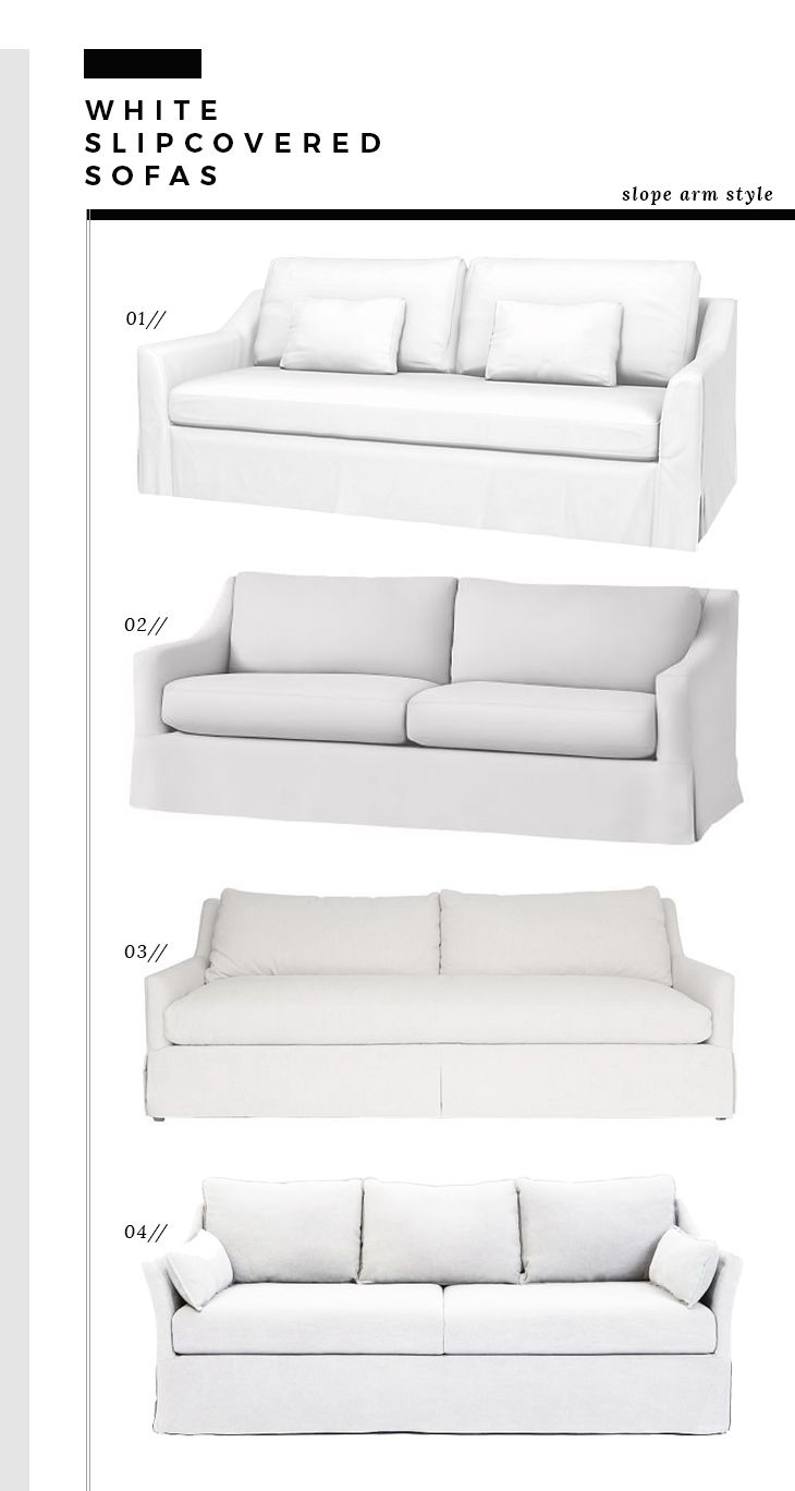 Enjoyable How We Choose White Slipcovered Sofas Room For Tuesday Alphanode Cool Chair Designs And Ideas Alphanodeonline