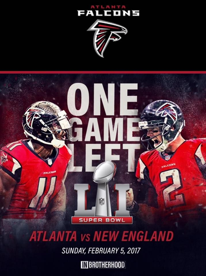 One Game Left Rise Up Atlanta Atlanta Falcons Memes Atlanta Falcons Football Atlanta Falcons Logo