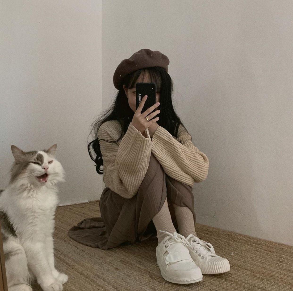 ツインチョコレート in 2020 Korean aesthetic, Korean girl fashion