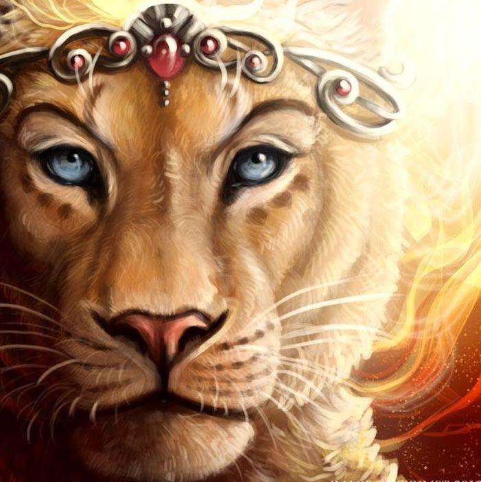 Lioness queen art   I'...