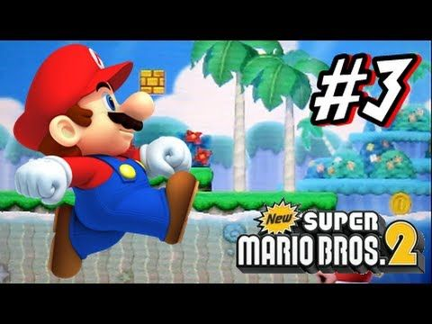 """Liked on YouTube: New Super Mario Bros 2 3DS - Part 3 World 3 This is my HD Let's Play with live commentary of New Super Mario Bros 2 for the Nintendo 3DS! This is part 3 of this let's play and we start and complete World 3! Make sure to leave a """"LIKE"""" and a comment if you enjoyed the vid! Thanks for watching! :D    Subscribe to the Show!!!  http://www.youtube.com/show/newsupermariobros23ds    Follow Me On Twitter!  https://twitter.com/#!/Cobanermani456    Like Me On Facebook…"""