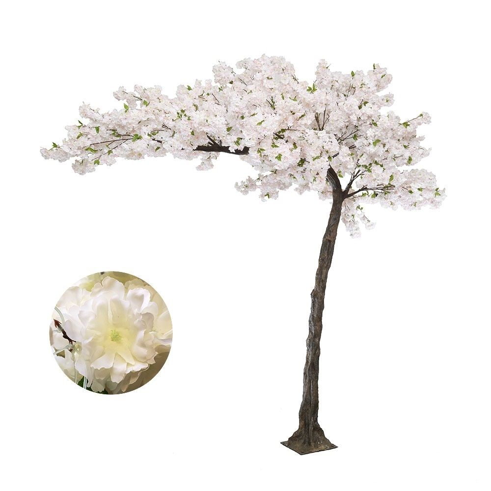 Artificial Blossom Tree In Pink Or White Replica Canopy Style Blossom Tree Wedding White Blossom Tree Cherry Blossom Tree