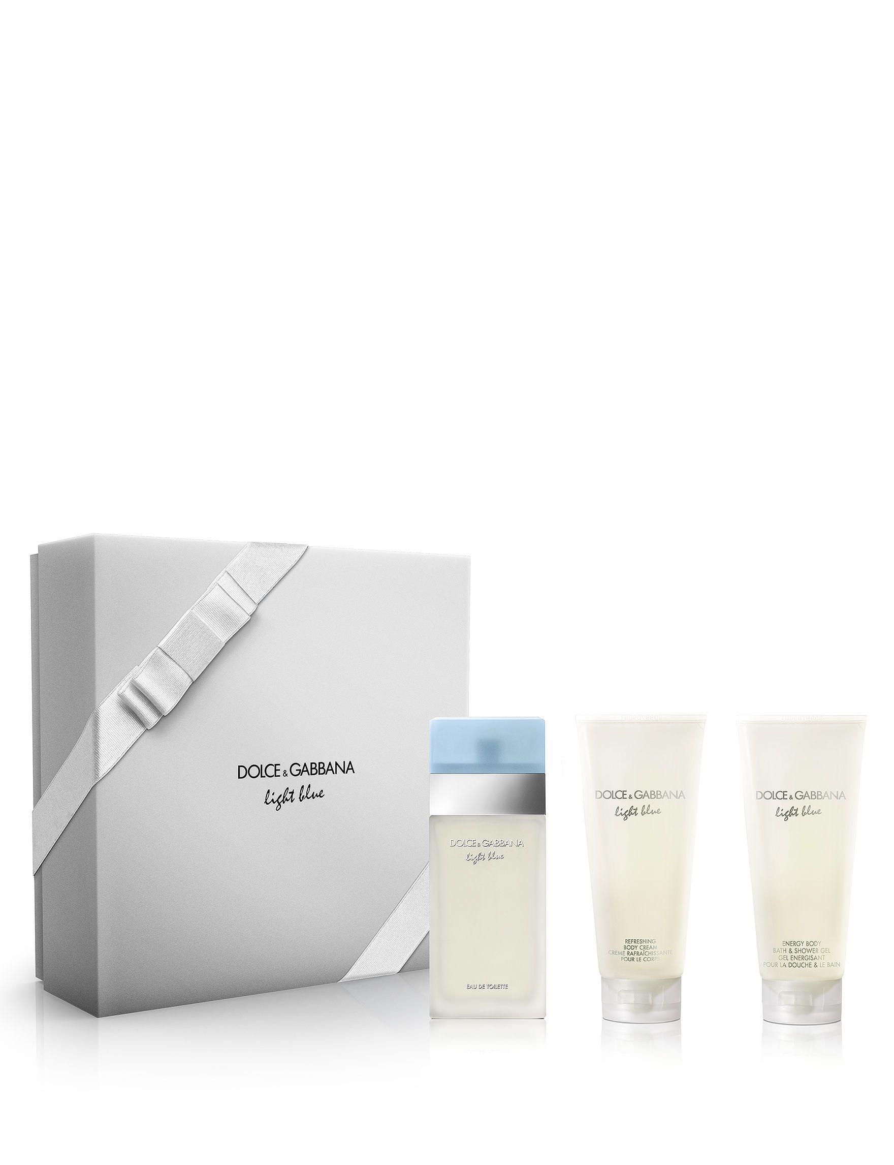 4c553d42ea Set dolce & gabbana light blue 100ml+gel 50ml+body | perfumes y ...