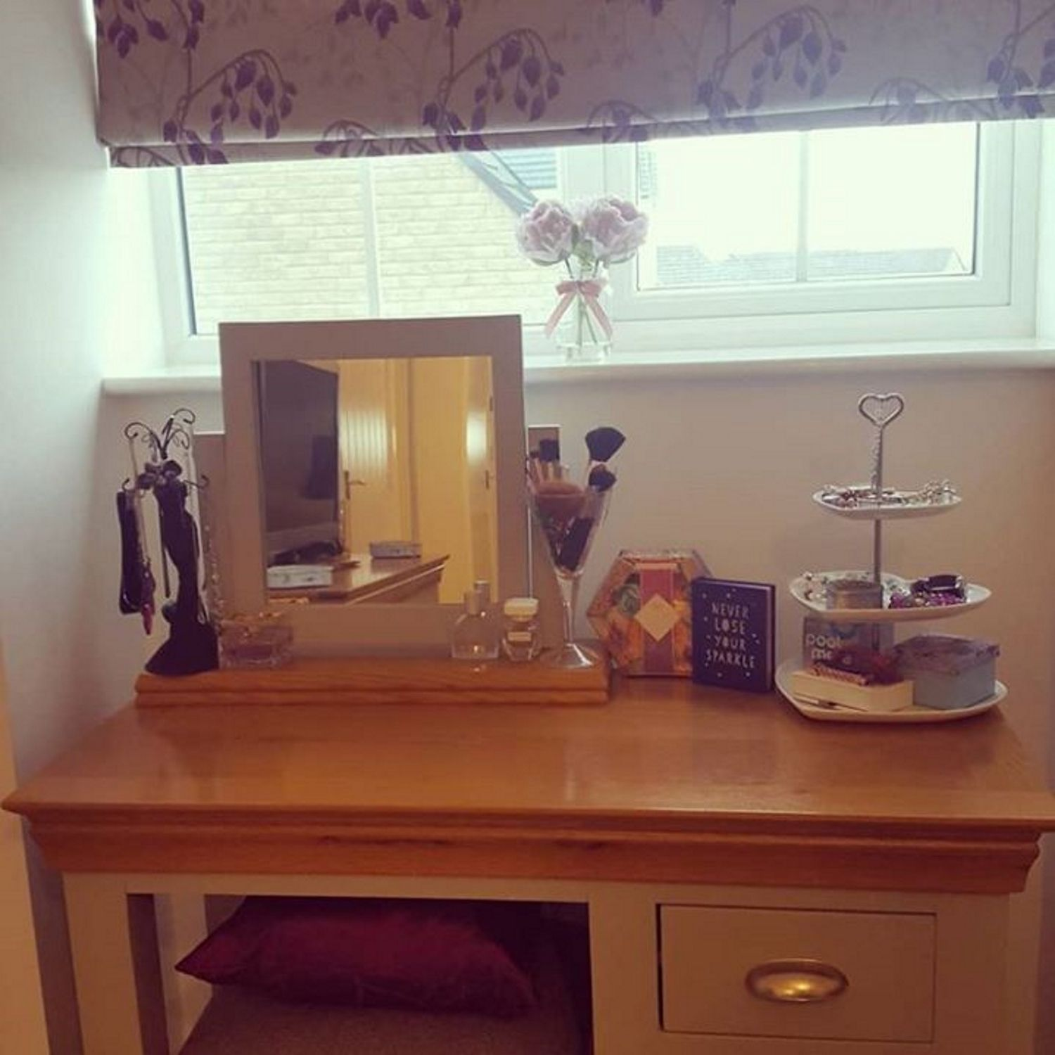 Instagram Joanne Hickling Loire Two Tone Dressing Table In Grey And Oak Lor028 Furniture 123 Online Furniture Table