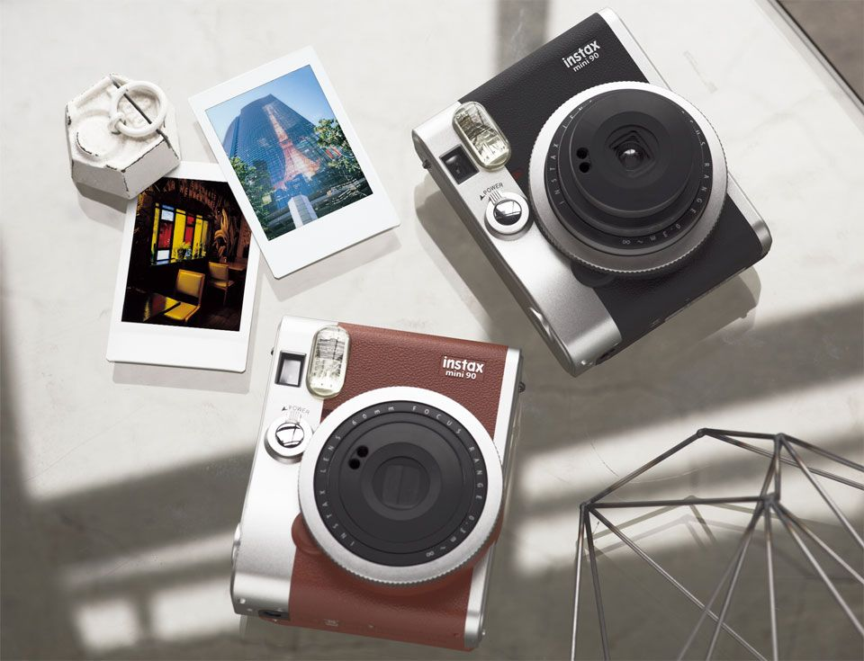 Designed With A Classic Look The Instax Mini 90 Offers Advanced Features Such As Bulb And Double Fujifilm Instax Mini 90 Instax Mini 90 Fujifilm Instax Mini