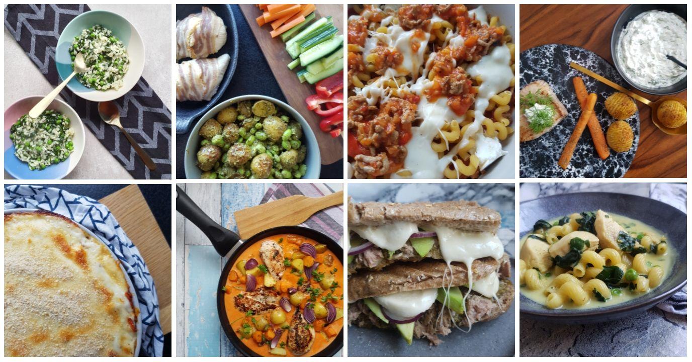 Madplan 24.05.20. Denne madplan deles hver lørdag på bloggen - det gør det nemt for dig og din familie at leve varieret og sammentid bruge mindre tid på planlægning.