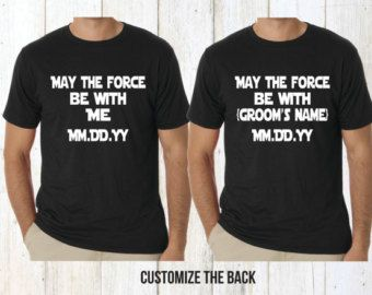 1d9d06fcba Star Wars bachelor party shirts