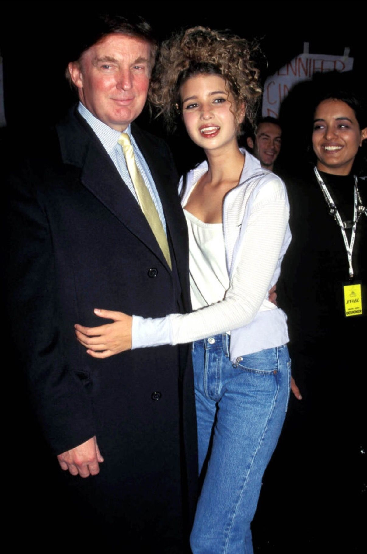 Adolescent Ivanka With Her Father Undated Photo Ivanka Trump Photos Trump Fashion Ivana Trump