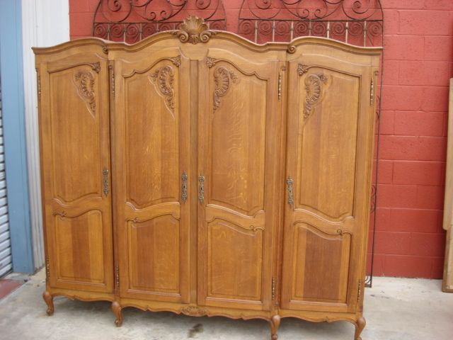 Antique French Armoire Wardrobe Closet. Love it!!!