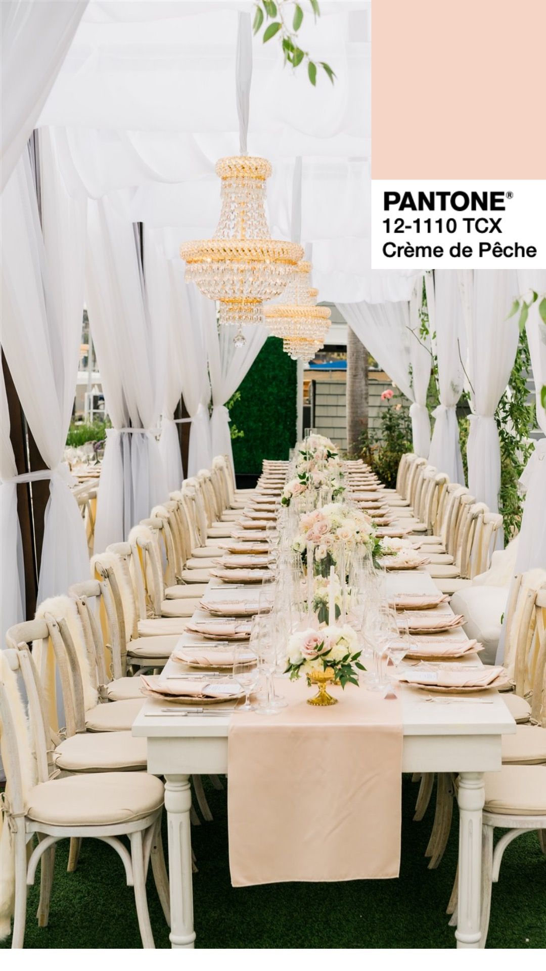 Signature Party Rentals California Southern California Orange County Wedding Seating Decor We Fall Color Palette Pantone Pink Orange Color Palettes