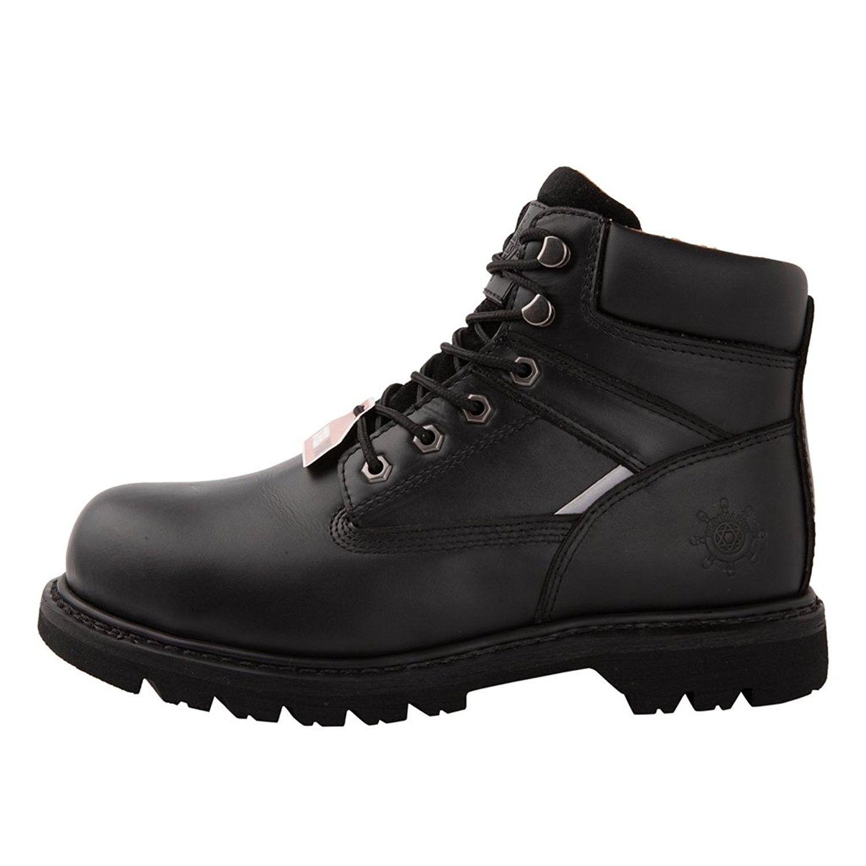 Gw mens 1606st steel toe work boots black c912bznu5yn