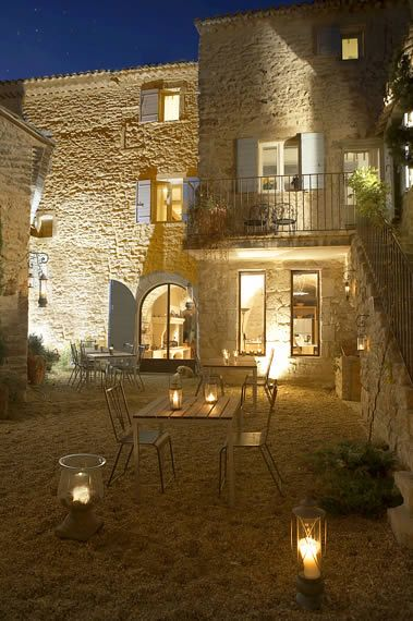 Eclairage Facade French House Stone Houses House Exterior