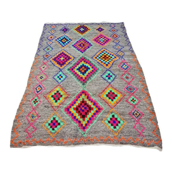 Midnight Feast Beni Ourian Moroccan Rug