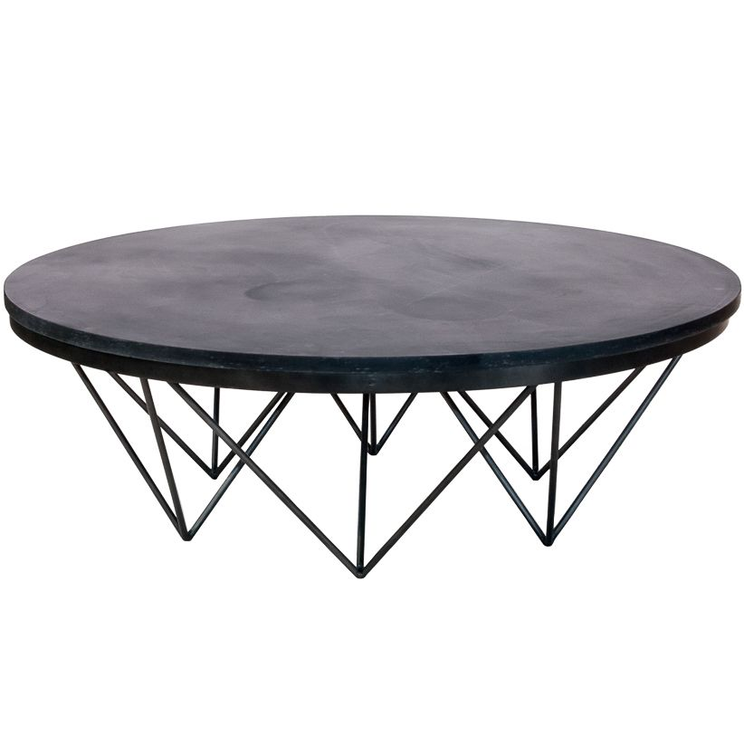 Modern Stone Top Coffee Table Round Round Coffee Table Modern