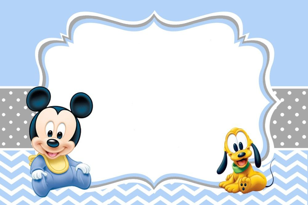 29 Awesome Mickey Mouse Clubhouse Blank Invitation Template Free