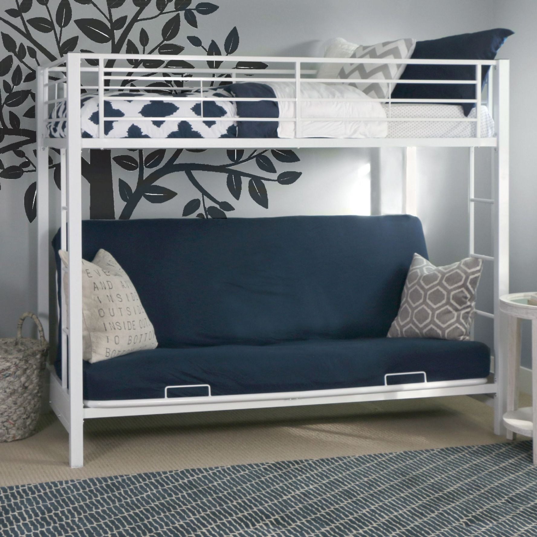pin by neby on bedroom apartments ideas futon bunk bed bunk beds rh pinterest ca