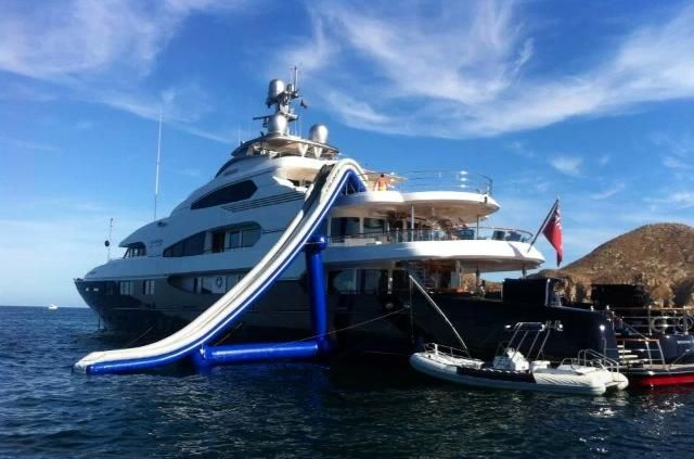 16 Mega Yachts in Cabo ideas   cabo, mansions, playground