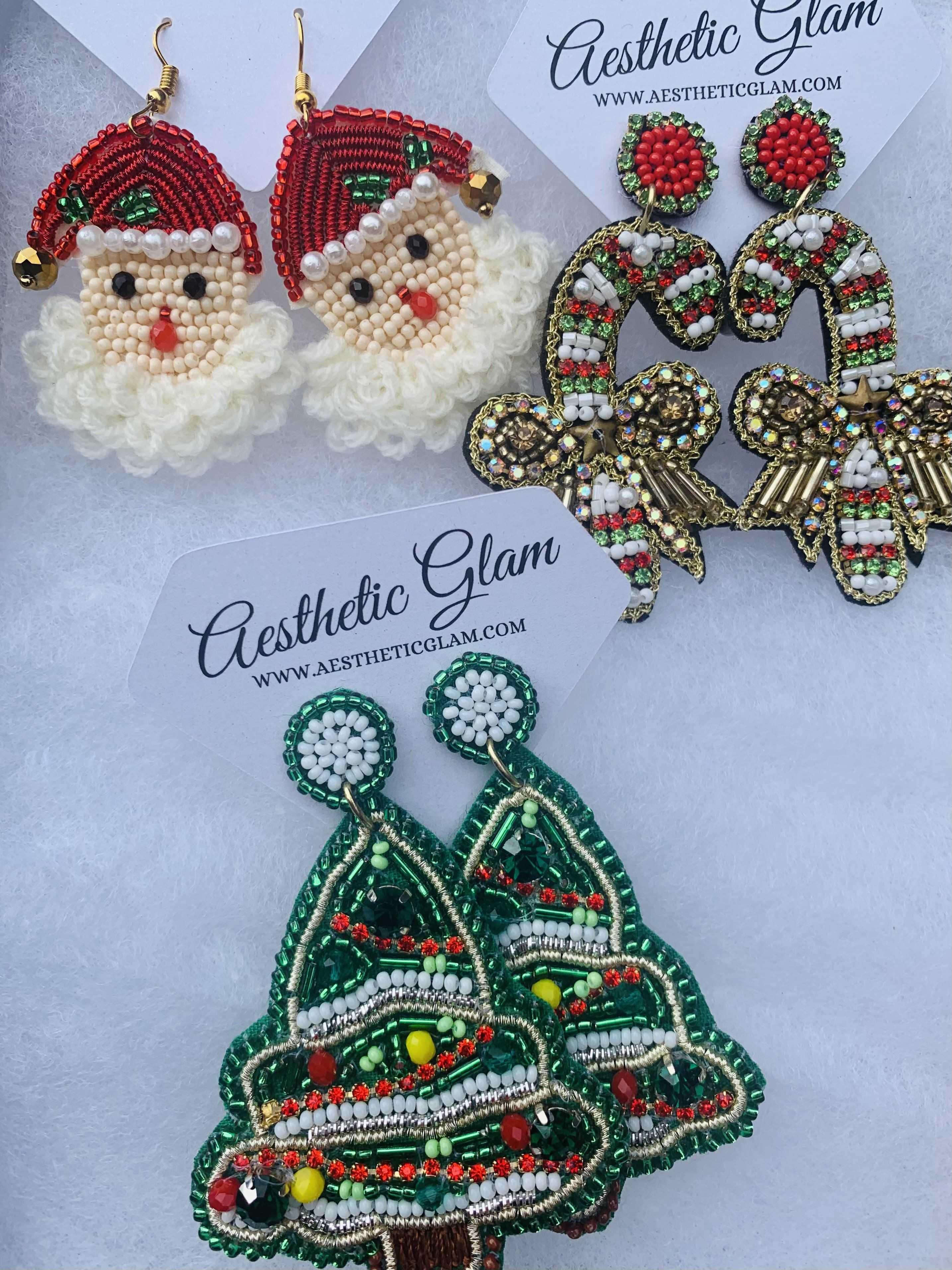 Christmas Earring are here to sleigh! Show your Holiday cheer!