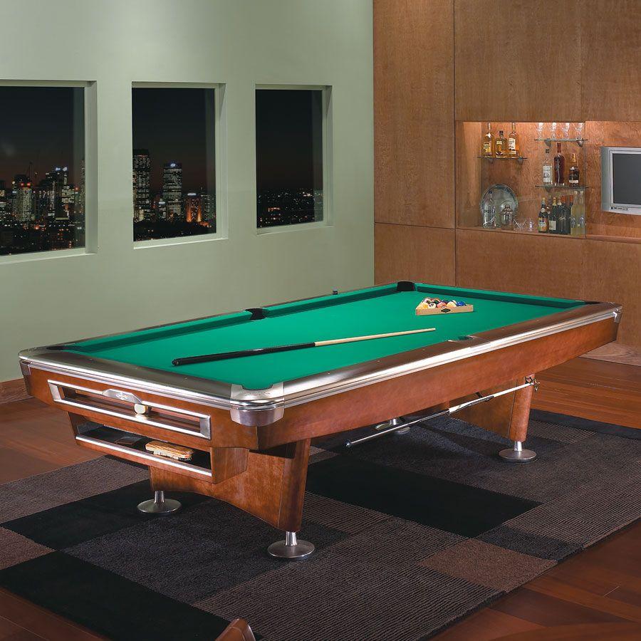 Brunswick Gold Crown V Billiard Table Professional Style