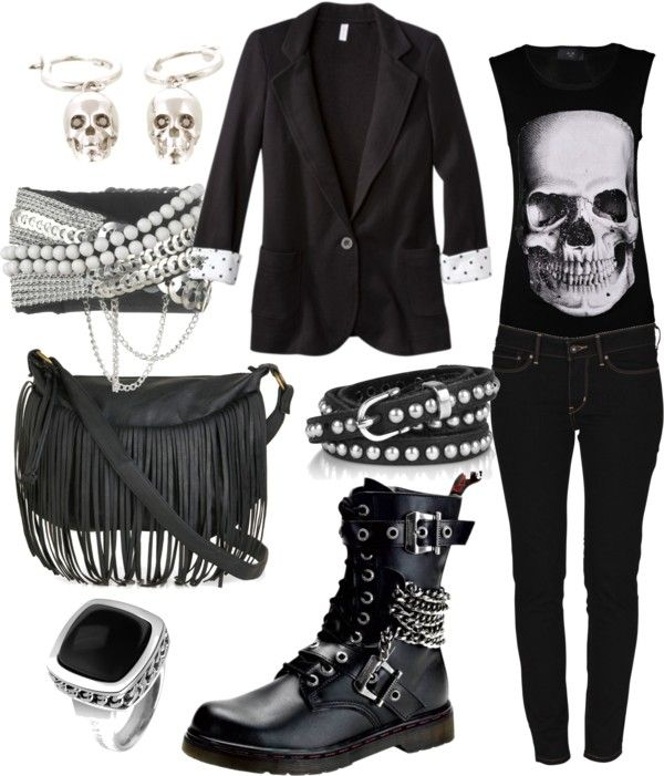 Outfits, Rocker Style, Rock