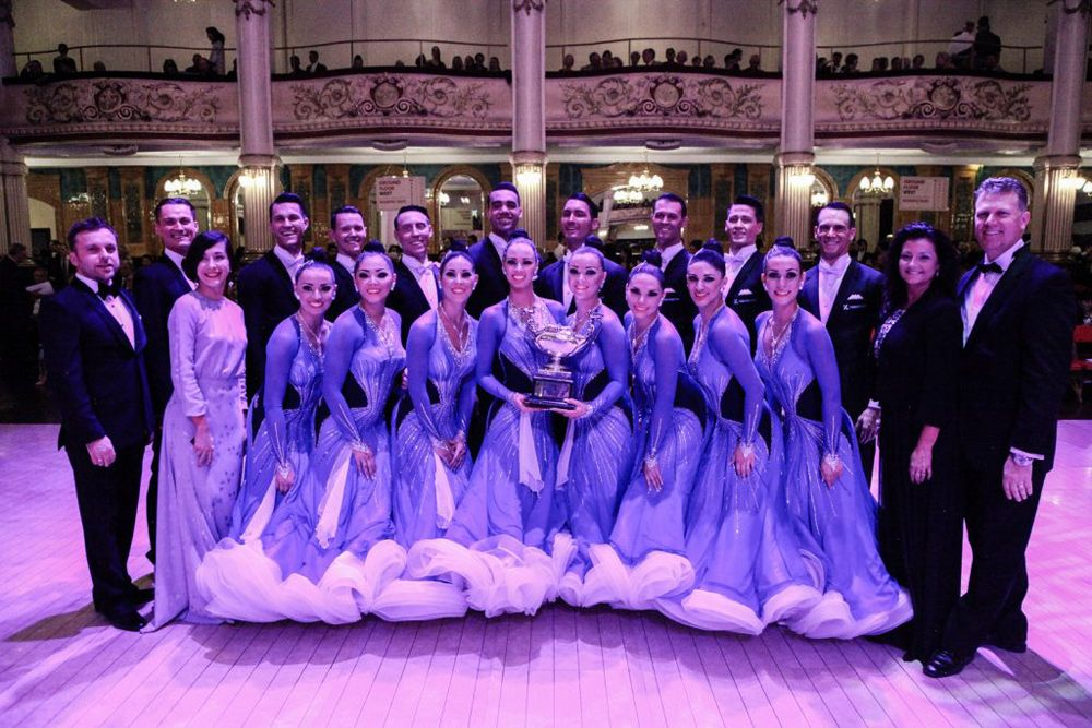 Byu Ballroom Dance Company Crowned Victors At England Competition The Daily Universe Dance Company Ballroom Dance Ballroom Dancing