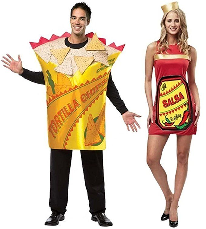 Hot u0026 Spicy Salsa and Tortilla Chips Adult Couple Costumes Halloween Costumes For Couples  sc 1 st  Pinterest & Hot u0026 Spicy Salsa and Tortilla Chips Adult Couple Costumes Halloween ...