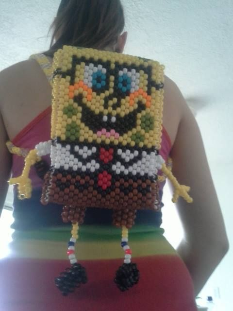 A badass kandi spongebob backpack from Kandiland member  10806354_10201984361970321_7096767535695382638_n.jpg (480×640)