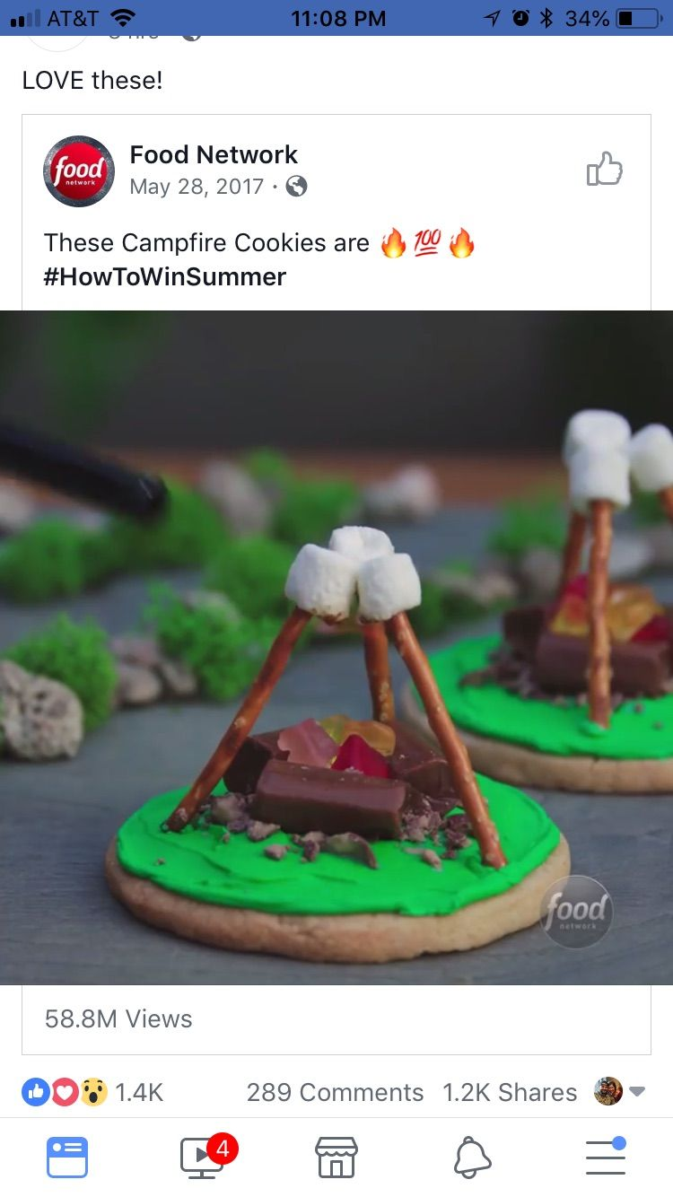 Pin by ashley jackson on camper campfire cookies food