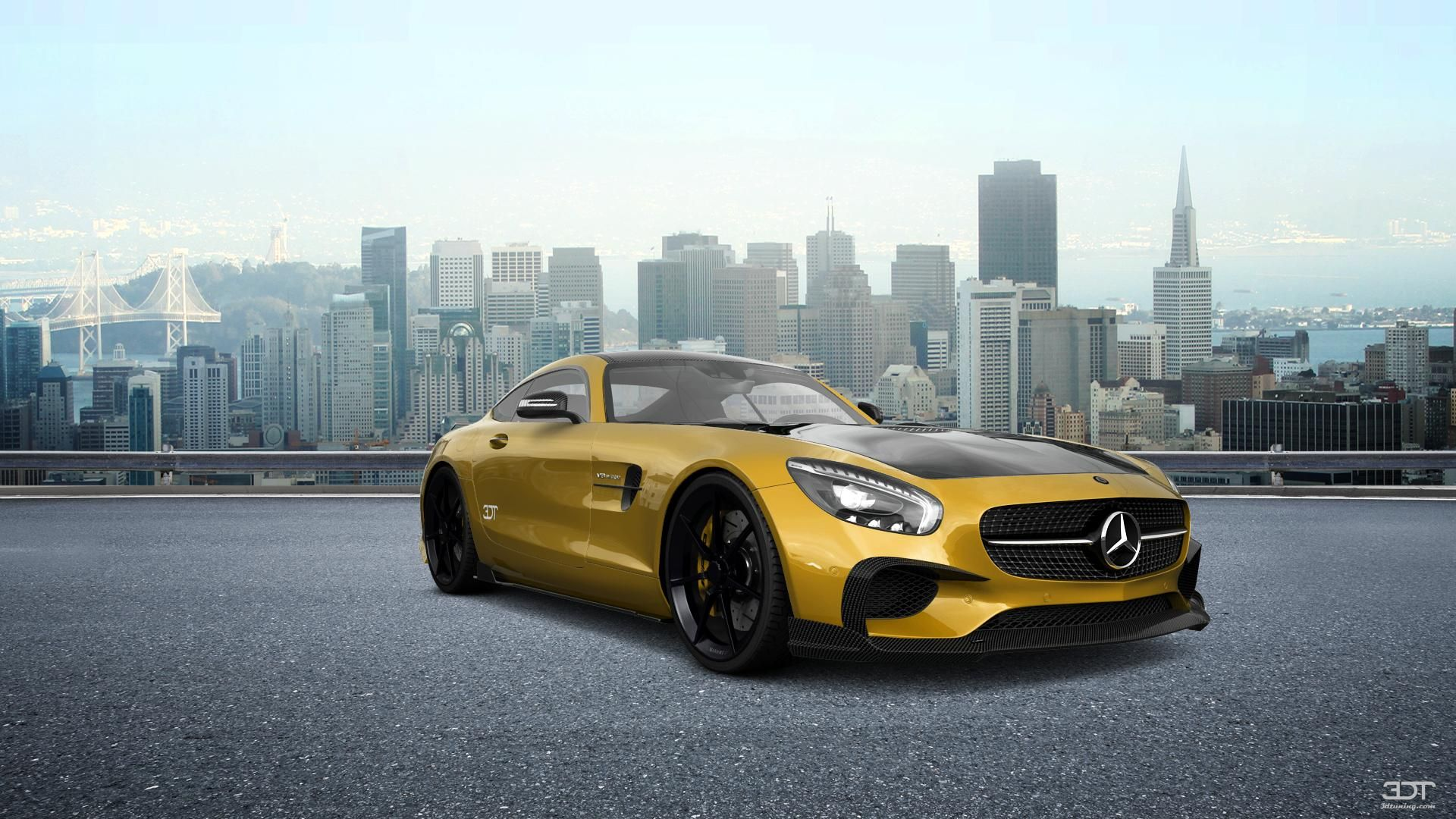 Checkout my tuning Mercedes AMGGT 2016 at 3DTuning 3dtuning