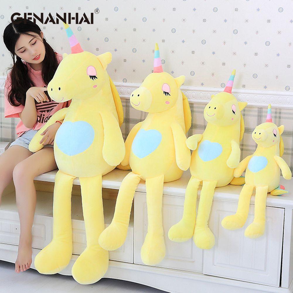 1pc 60 160cm Kawaii Large Soft Unicorn Animal Plush Toy Stuffed Toy Girl Gift Children S Toy Sofa Pillow Cushion Home Decoration Unicorn Plush Unicorn Toys Childrens Toy [ 1000 x 1000 Pixel ]