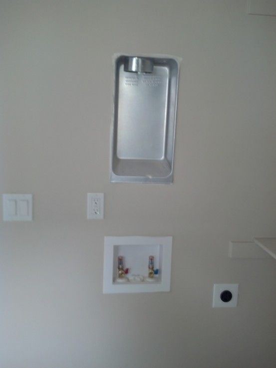 Master Closet Is Large With Washer Dryer Hook Ups For A