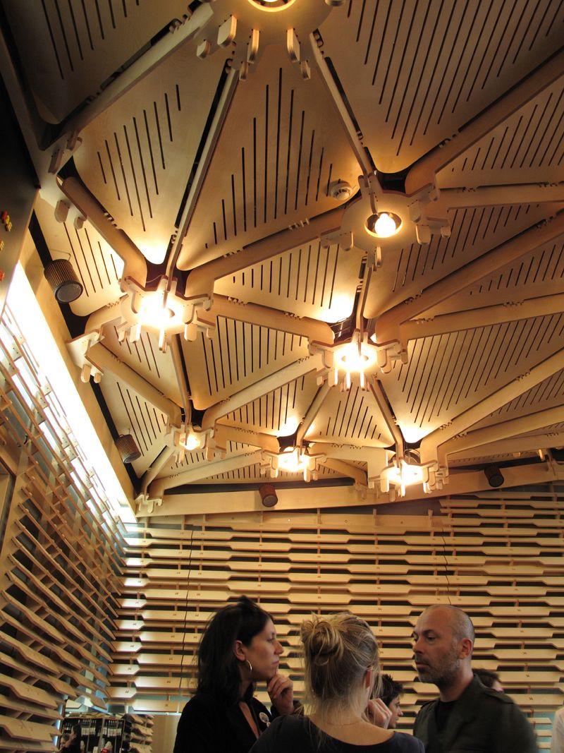 le cafe cache paris the 104 centre now harbours this wonderful secret little caf plywood