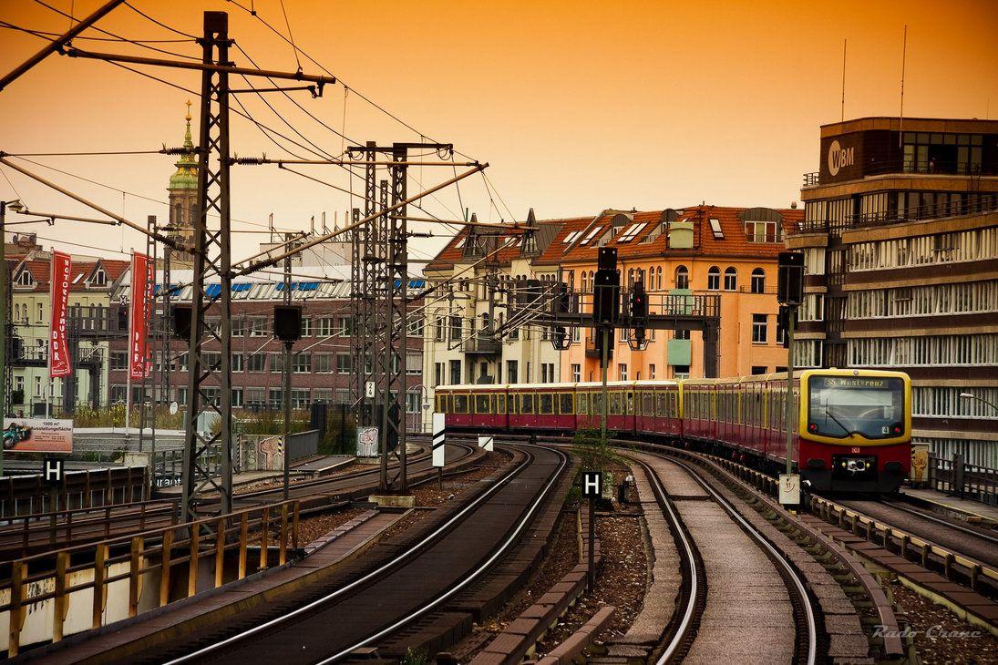 S Bahn In Berlin Alexanderplatz Berlin Trip Germany