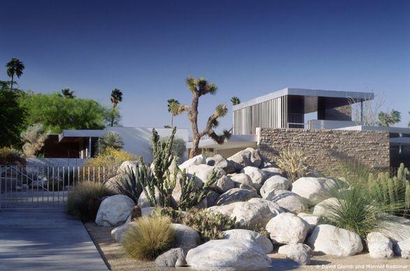 jardin sec richard neutra 39 s kaufmann house 1946 palm springs sunny gardens pinterest. Black Bedroom Furniture Sets. Home Design Ideas